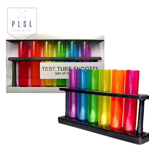[PLAY PLSL] 튜브 슈터 Acetate Test Tube Shooters